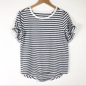 3/$25   A New Day Striped Short Sleeve